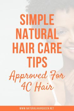 Natural Hair Care Tips for Growth and Length - Simple Natural Hair Care Tips for Hair Natural Hair Types, Best Natural Hair Products, Natural Hair Care Tips, Natural Hair Growth, Natural Haircare, Natural Curls, Hair Hacks, Hair Tips, Hair Ideas