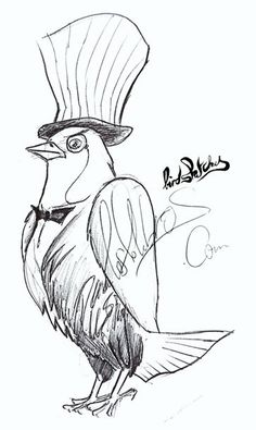 one of many Loslohbros sketches, the birdy man Sketches, Random, Animals, Art, Drawings, Animales, Animaux, Sketch, Kunst