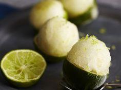 Ingwer-Limetten-Sorbet Rezept