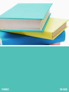 Sherwin-Williams blue paint color – Synergy (SW 6938)