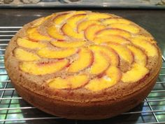 This Peach Frangipane Cake is yet another alternative for people looking for gluten-free cakes.