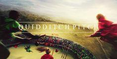 Hogwart's Locations:  Quidditch Pitch