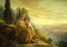 Jesus Weeps Over Jerusalem