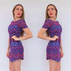 New online today!! Tribal Mini Dress in Purple! We love it!  #dress #dresses #love