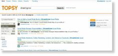 topsy 69 Free Social Media Monitoring Tools [UPDATE 2013]