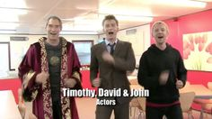 """To The Proclaimers """"I'm Gonna Be (500 Miles)"""", here's the cast and crew special for the end of David Tennant's tenure as the Doctor.  http://www.youtube.com/watch?v=3s4Czla6tXc"""