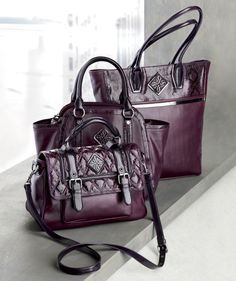 Chic bags from Simply Vera Vera Wang. #Kohls Department Stores