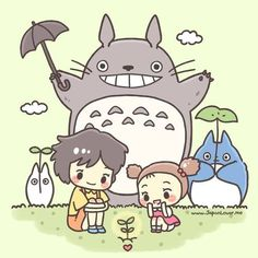 Totoro and Kawaii Stuff