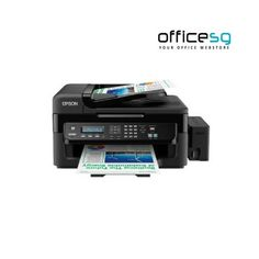 Buy EPSON Multifunction Inkjet Printer Ethernet Print / Scan / Copy / FAX L550 Online. Shop for best InkJet Printers online at Officesg.com. Discount prices on Office Technology Supplies Singapore, Free Shipping, COD. Best Inkjet Printer, Windows Server, Office Phone, Epson, Landline Phone, Ink Cartridges, Mai, Printers, Singapore