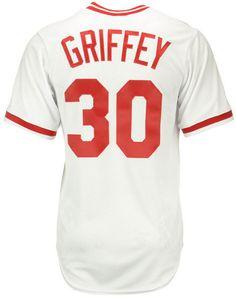 Majestic Ken Griffey Sr. Cincinnati Reds Cooperstown Replica Jersey df7a80827c0