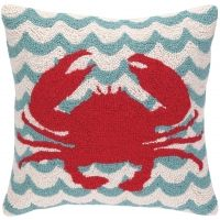 Waves / Crab Hook Pillow