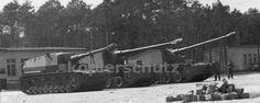 Testing various larger caliber guns to modified Panzer 4 chassis