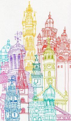 City Towers-Glasgow, Edinburgh & Berlin on the