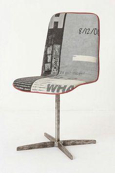 Graphic Chair. @Deidré Wallace