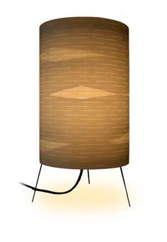 Birch Paper Lamp by Michael Spiegel, via Behance