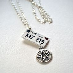 Supernatural Necklace by Bata668 on Etsy