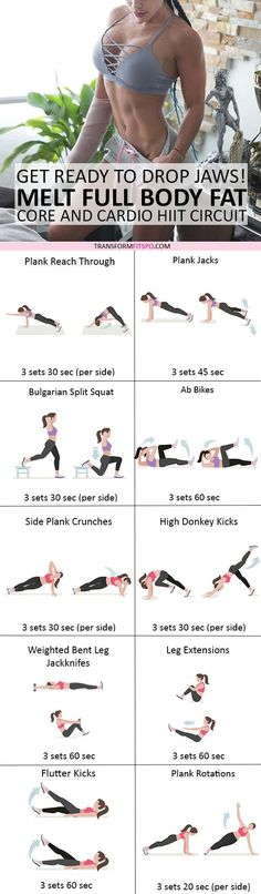 #womensworkout #workout #femalefitness Repin and share if this workout got you toned all over! Click the pin for the full workout.