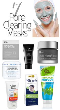 Great pore clearing masks to prevent blemishes and blackheads
