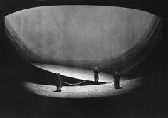 """ Götterdämmerung "" Vorspiel 1963 Wolfgang Wagner Bühnenphoto Set Design Theatre, Christmas Carol, Classical Music, Lighting Design, Opera, Stage, Live, Stage Design, Bayreuth"