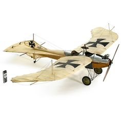 Etrich-Rumpler Taube this is a model but I really like this and I built a RC model of it a long time ago....