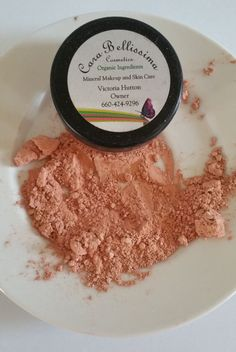 all natural Natural Cosmetics Mineral Makeup gluten free
