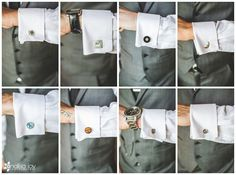Wedding: Chris & Lindsay// Pala Mesa Resort, Fallbrook, CA » Analisa Joy Photography // groomsmen cufflinks
