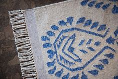 Stylish Rug in Blog Cabin's Guest Bedroom