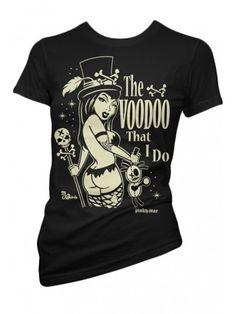 Women's Voodoo T-Shirt - Black
