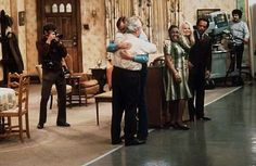 Behind the Scenes | List of the 57 Best BTS Photos from Iconic TV Shows Archie Bunker