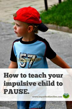 All kids are impulsive. They act without thinking, hit, and throw things. Sometimes they need to be taught to THINK! Use this strategy to help your child pause and think through their actions.