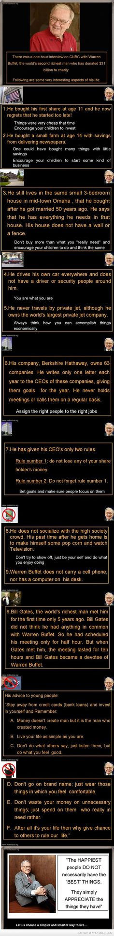 The 2nd Richest Man In The World Is Simple