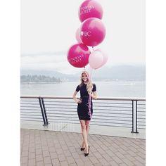 Lindsay Ellingsonfor the opening of the Vancouver Victorias Secret Store #VSLovesCanada