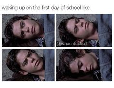 Waking up on the first day of school The Outsiders Ponyboy, The Outsiders Quotes, 80s Movies, I Movie, Ralph Macchio The Outsiders, The Outsiders Preferences, Back To The 80's, Matt Dillon, My Heart Hurts