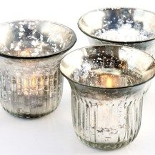 Antique hurrican tealight holders for hire - wedding and event decor Glasgow, South Lanarkshire, Ayrshire and west of Scotland