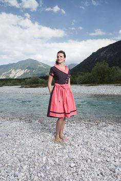 Kleider - Dirndl Louisa - ein Designerstück von Diana_Sinnig bei DaWanda