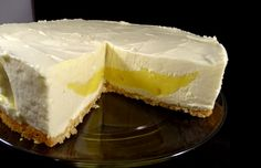 If you love cheesecake and lemon then this is a wonderful creamy lemon cheesecake for you to make with that lovely lemon surprise in the middle. Lemon Cheesecake, Cheesecake Recipes, Third, Baking Ideas, Middle, Sunday, Cheesecakes, Check, Pies