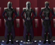 Amroth Armor for Maxis AM, Harem Dude AM, & AF AthleticGirl
