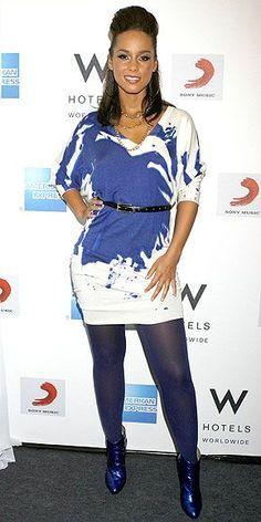 Alicia Keys Fashion September 2017