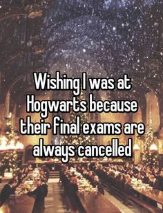 What's it like to have noooooo exams at the end of school? HSoWaW tells you how it feels.