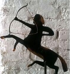 Sagittario,+ornamento+d'angolo,+in+ferro+di+Artistic+Wrought+iron+su+DaWanda.com