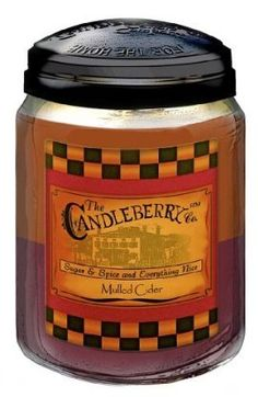 If you like tart, fruity kind of scents, then the Mulled Cider candle from Candleberry Co. is perfect for you! The spice scent from the mulling spices is mixed perfectly with the sweet and tangy scents of various fruits, mainly orange, apple and cranberry. While this candle could be burned any time of the year! Ben Franklin Online - Mulled Cider- Candleberry Co.- 26oz, $19.99 (http://www.benfranklinonline.com/mulled-cider-candleberry-co-26oz/)