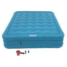 Coleman Durarest Plus Double High Airbed Queen with 120V Pump * Read more  at the image link. (This is an Amazon affiliate link and I receive a commission for the sales and I receive a commission for the sales)