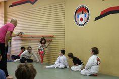 Little Zena wants in the action. Karate Kick, Tuna