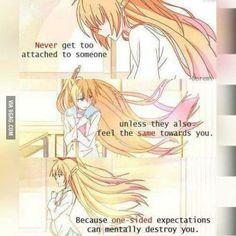 Nisekoi- this is honeslty one of the most layered anime i've ever watched Sad Anime Quotes, Manga Quotes, True Quotes, Reminder Quotes, Deep Quotes, Nisekoi, One Sided Love, Kaichou Wa Maid Sama, A Silent Voice
