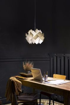"""The """"Escape"""" pendant lamp in white by LZF Lamps! They also presented it at this year's Salone del Mobile... :)"""