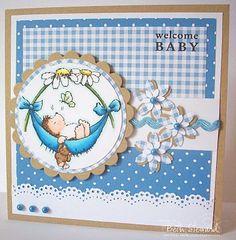 Beth's Little Card Blog: Penny Black Saturday #109 & Sweet Stop #64!