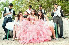 #quinceanera #pink #ballgowns #❤