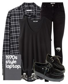 """""""Check out @whispers-of-a-fandom"""" by the-pastel-goth ❤ liked on Polyvore featuring 6397, T By Alexander Wang and King Baby Studio"""