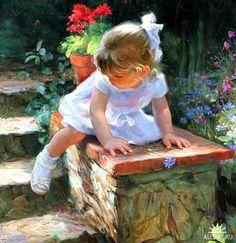 Vladimir Volegov   Children are so innocent, so trusting and just beautiful.❤️