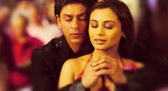 Shahrukh Khan and Rani Mukherji - Kabhi Alvida Naa Kehna (2006)